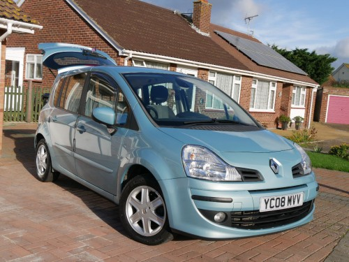 Used renault modus cars second hand renault modus for Premier garage derby