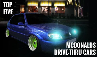5 of the Best Cars for the McDonald's Drive Through
