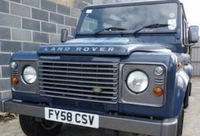 2008 Land Rover Defender 2.4 110 County Station Wagon £16,995