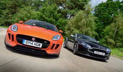 Aston Martin V8 Vantage Roadster Vs Jaguar F Type Convertible V8 S