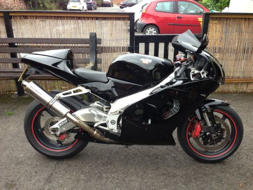 Aprilia RSV 1.0 Mille Sports Bike Petrol BLACK